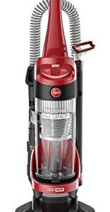 Hoover Windtunnel Max Capacity Upright Vacuum Cleaner with HEPA Media Filtration, UH71100, Red