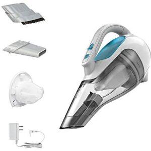 BLACK+DECKER Dusbuster Handheld Vacuum ION Hand, Cordless, Flexi Blue/ Grey / White (HHVI315JO42)